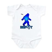 Bigfoot in Blue Infant Bodysuit
