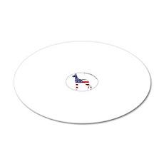 GreatDane_prod_USA 20x12 Oval Wall Decal