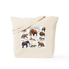 Extinct Animals of North America Tote Bag