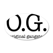 original_gangster Wall Decal