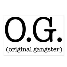 original_gangster Postcards (Package of 8)