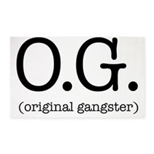 original_gangster 3'x5' Area Rug
