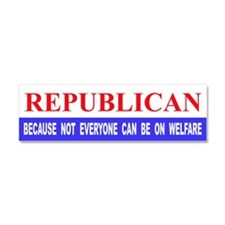 Cute Funny political Car Magnet 10 x 3