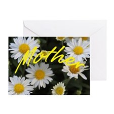 Profusion Of White Daisy Mums-Mother Greeting Card