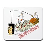Sled Dog Motivation Mousepad