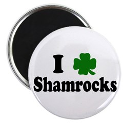 I Love Shamrocks Magnet