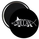 Wiccan Fish Magnet
