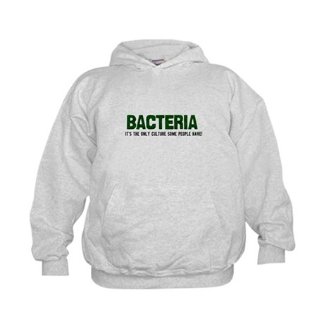 Bacteria/Biology Kids Hoodie