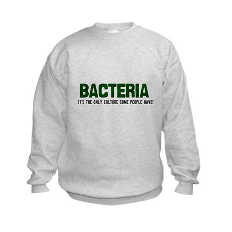 Bacteria/Biology Kids Sweatshirt