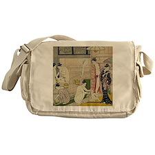 Kiyonaga bathhouse women SC2 Messenger Bag