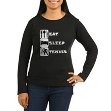 Eat Sleep Tennis Long Sleeve T-Shirt