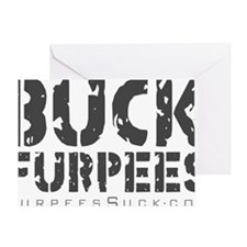 Buck Furpees Greeting Card