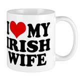 I Love My Irish Wife Mug