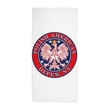 Depew New York Polish Beach Towel