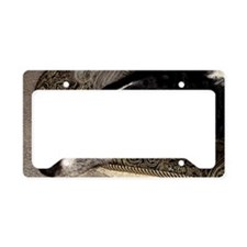 CalvinSleepingPC100 License Plate Holder
