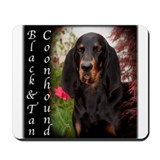 Black &amp; Tan Coon Hound Mousepad