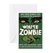 whitezombie Greeting Card