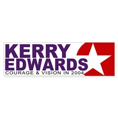 Kerry Edwards 2004 (bumper sticker)
