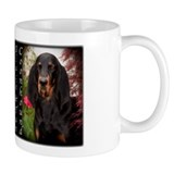 Black &amp; Tan Coon Hound Mug
