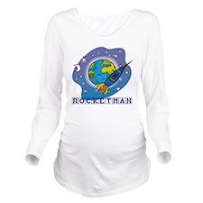 Rocketman Long Sleeve Maternity T-Shirt
