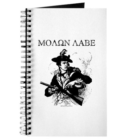 Molon Labe Minuteman Journal