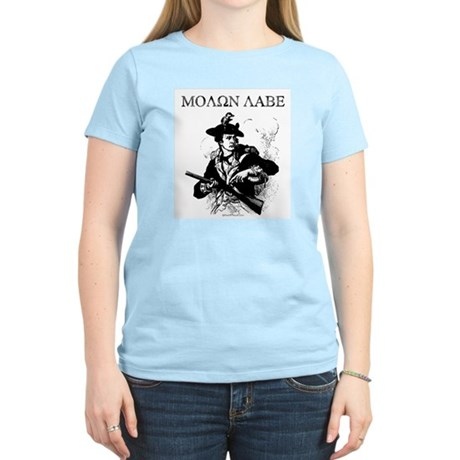 Molon Labe Minuteman Women's Light T-Shirt