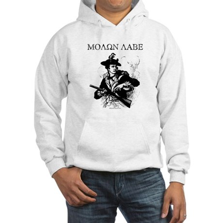 Molon Labe Minuteman Hooded Sweatshirt