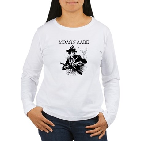 Molon Labe Minuteman Women's Long Sleeve T-Shirt