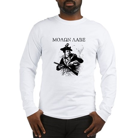 Molon Labe Minuteman Long Sleeve T-Shirt
