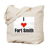 I Love Fort Smith Tote Bag