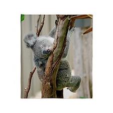 Koala6 HIRES Throw Blanket