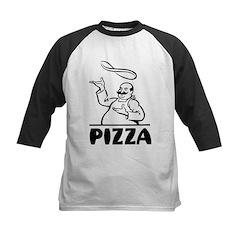 Retro Pizza Kids Baseball Jersey