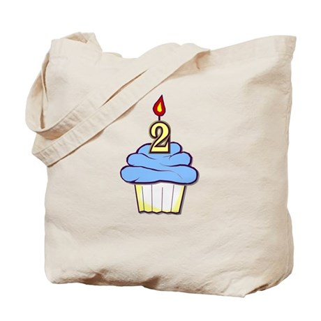 2nd Birthday Cupcake (boy) Tote Bag