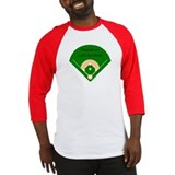 Diamonds... Girls Best Friend Baseball Jersey