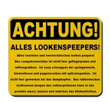 Achtung Mousepad