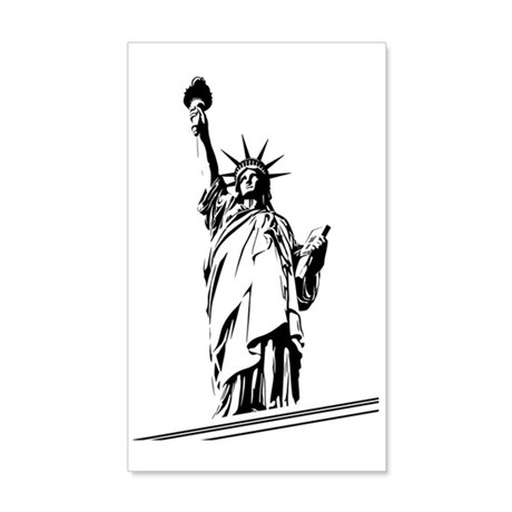 Statue_Of_Liberty_02 35x21 Wall Decal