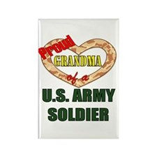 Proud Army Grandma Rectangle Magnet