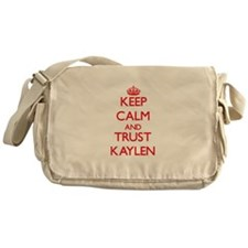 Keep Calm and TRUST Kaylen Messenger Bag