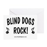 Blind Dogs Rock Greeting Cards (Pk of 10)
