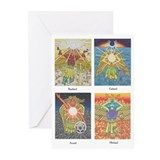 Four Archangels Greeting Cards (Pk of 10)