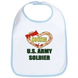 Proud Army Cousin Bib