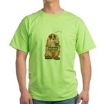 Retired Dog Green T-Shirt