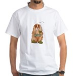 Retired Dog White T-Shirt