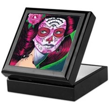 sugar_skull_14 Keepsake Box