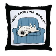 nonsportingdrk2 Throw Pillow