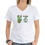 Scott Designs Women's V-Neck T-Shirt