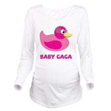 Baby Gaga Long Sleeve Maternity T-Shirt