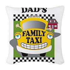 familytaxiDADK Woven Throw Pillow