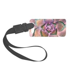 Stone Flower Luggage Tag