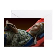 14X10 Eleanor of Aquitaine Print Greeting Card